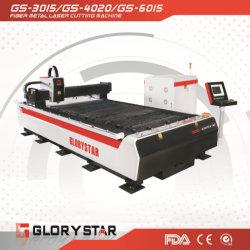 Une haute précision en acier inoxydable ou acier doux/machine de découpe laser de métal