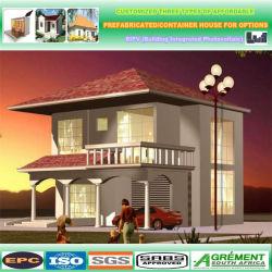 Preiswertes modulares hölzernes Zwischenlage-Panel-vorfabriziertes vorfabrizierthaus