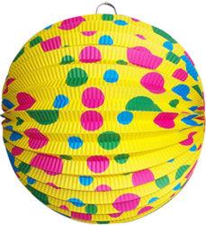 생일 파티를 위한 도매 둥근 아코디언 종이초롱