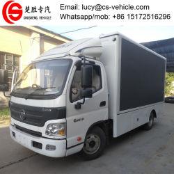 4X2 Foton P4, P5, P6 écran LED de la publicité Trucksmobile chariot