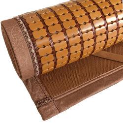 Lenzuolo di bambù piegante di qualità superiore di formato della regina della stuoia di sonno