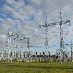 工場卸し売り鋼管のポーランド人の送電のサブステーションの構造