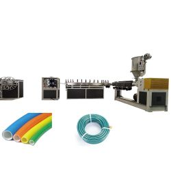 Plastique PVC flexible d'aspiration renforcé de fibre de ligne d'Extrusion