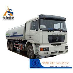 Alta eficiência de trabalho Shacman 6X4 caminhão tanque de sprinklers para venda