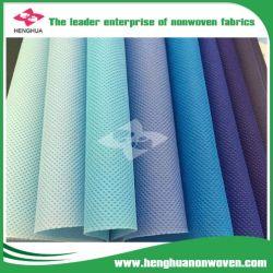 PP Spunbonded polyester Tissu non tissé de perforation de l'aiguille pour un sac de shopping