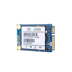 휴대용 퍼스널 컴퓨터 PC를 위한 Msata 소형 SATA 128GB 256GB 240GB 512GB 1tb 내부 고체 디스크 SSD 하드드라이브