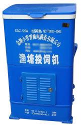 120W 120kg máquina de alimentação de peixes de camarão de HDPE