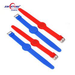 Braccialetto su ordinazione della gomma del Wristband del silicone di colori Mixed su ordinazione di stampa