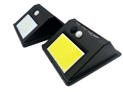 LED de luces de seguridad Solar exterior resistente al agua de las luces del sensor de movimiento Super brillante Apliques para puerta delantera, patio de atrás