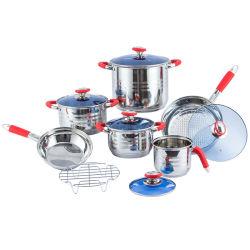 12 pzas cocina utensilios de cocina La cocina de acero inoxidable vajilla menaje de cocina de silicona de inducción
