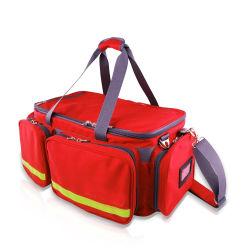prix d'usine rouge portable sacs de transfert de secours Trousses de premiers soins