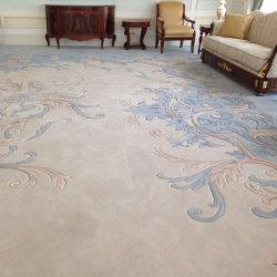 Роскошный геометрический круг Настраиваемый современный узор Ручная по сечениям область дизайнер Ковры и ковры
