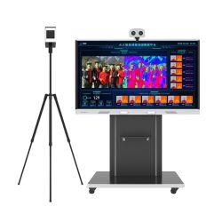 Nessun-Metter in contatto con il riconoscimento di fronte infrarosso di misura di temperatura della macchina fotografica dello scanner di registrazione di immagini termiche