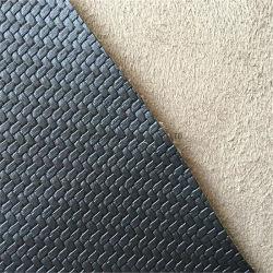 가구 소파 시트 의자 뒤 방석 실내 장식품을%s 길쌈된 패턴 PVC 합성 가죽