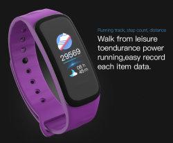 C1plus Ebay высокое качество цветной экран ЧСС браслет для мужчин Smart браслеты с цепью конструкций Extender для девочек подружки мама парень
