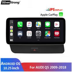 Audi Q5용 Silverstrong Android 10 System Car GPS Navi 2013-2016 LHD 4G + 64G RAM WiFi Google BT 비디오 스테레오 CarPlay DSP 터치 스크린
