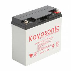 Batterie rechargeable Batterie Gel 12V 18Ah batterie solaire de gel de batterie hybride