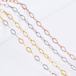 Оптовая торговля моды Аксессуары Ювелирные изделия из нержавеющей стали с золотым покрытием браслет Anklet цепочка для подвесного дизайн