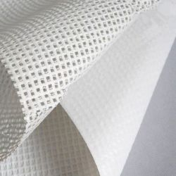 Banner flexível de malha com revestimento de PVC