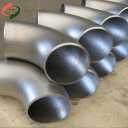 28 pulgadas de 30mm de acero inoxidable sanitario Espejo de montaje del tubo flexible de radio corto codos de 45 grados