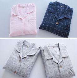 BaumwollpyjamasNighty für Dame-Kind-Schlafanzüge