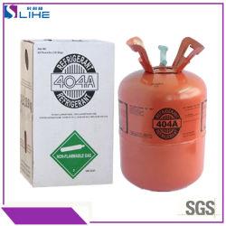 Nahrungsmittelspeicher-Gefriermaschine-Gas-Kühlmittel R404A Freon hergestellt in China