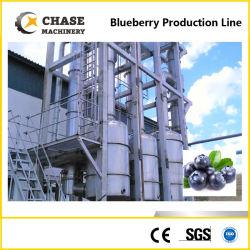 Hohe Kapazitäts-Blaubeere-Saft-Püree-Marmelade, die Maschine herstellend aufbereitet