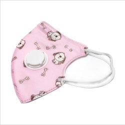 Il Ce Nelson dell'u.c.e. di uso dei bambini ha certificato la mascherina infantile di uso KN95 di anni dei ragazzi e delle ragazze 3-8 del respiratore della Anti-Gocciolina dell'orecchio della protezione di bocca con la respirazione