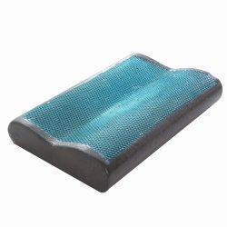 Konfurt 고급 맞춤형 빵 모양 정형외과 킹 사이즈 Bamboo Charcoal 잠자기 위해 베개를 말아 주세요