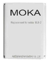 Аккумуляторная батарея для мобильного телефона Moka ALB замена для Nokia BLB-2