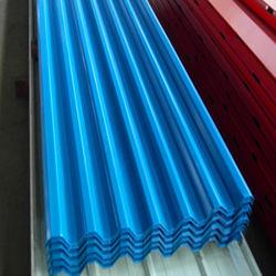 China fábrica de aço galvanizado sinusoidal de revestimentos betumados Folha do perfil utilizado para material de construção