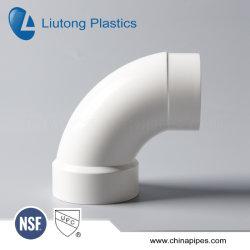 ASTM-D-2665標準Dwv UPVCの管及び付属品(ティー、肘、45elbow、十字、90deg長い肘、m/fの肘等)