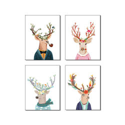 Het populaire Dierlijke Schilderen van het Canvas Picutre voor de Zaal van Jonge geitjes