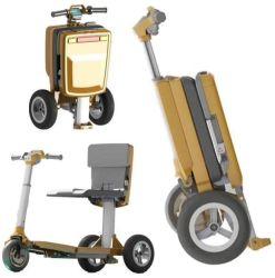 Leichter motorisierter Gepäck-Rollstuhl-elektrischer Roller für ältere Personen