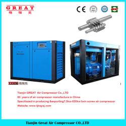 مصنع الصين لضاغط برغي محرك القارنة بأفضل الأسعار مرتفع ضاغط الهواء ذو المرحلتين من الجودة 30HP