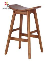 Sgabello di barra di legno del contatore di cucina dell'alta presidenza della mobilia commerciale della barra