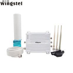 Wingstel Portable USB Wireless Router WiFi antena de telefonía móvil inteligente de extender el amplificador de señal RF E Teléfono GSM 3G 4G Móvil Amplificador de señal de repetidores con SIM