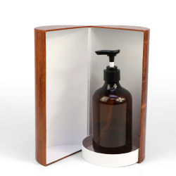 Quarto Deluxe com design Firstsail tipo flip Round rígido Candle Gift Wine Embalagem tubo de papel para frasco cosmético Shampoo com alto-falante Bluetooth