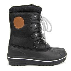 Les enfants de l'hiver la neige des bottes imperméables Kids chaussures pour les filles garçons bébé à la mi-mollet avec de la fourrure en peluche d' Enfants bottes chaudes