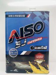 O óleo de motor sintético de alta qualidade A5 Sm/CF-4 10W-40 Lubrificar