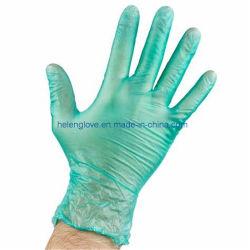 ぴしゃぴしゃという音の明確なビニールの手袋の乳液の自由で粉自由な手袋PVCクリーニングの健康の手袋