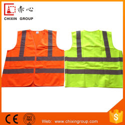100% полиэстер Tricot/вязания Workwear Майка безопасности (CC-V03)