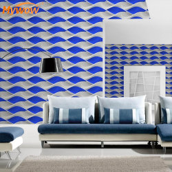 Guangzhou Stock! Habitación 3D de papel de pared decorativos