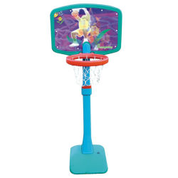 Plástico de buena calidad Conjunto de Baloncesto Baloncesto portátil de juguete para niños el aprendizaje de soporte