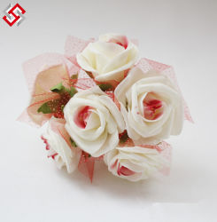 Faux Artificial Pronto Venda decoração decorativos Casamento Rosa de Espuma