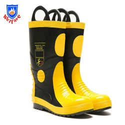 Fire Fighting Rubber Boots, Firefighter Boots