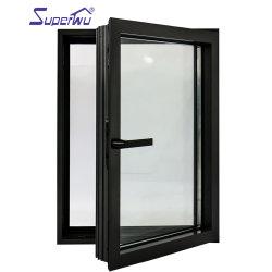 フロリダ州アメリカ標準耐衝撃性、新幹線用窓、三重ガラス アルミニウム製の窓