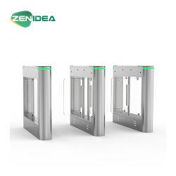Для использования вне помещений оптического распознавания Swing барьер турникет барьера с литниковыми клапанами
