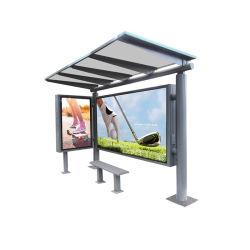 Bulletin en acier inoxydable personnalisé Avis du Conseil annonce l'affichage de panneaux LED