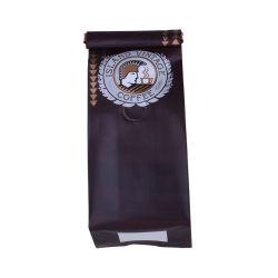 Mattende-Block-Unterseiten-Beutel mit Folien-Laminierung und Entgasung-Ventil für gebratene Kaffeebohnen